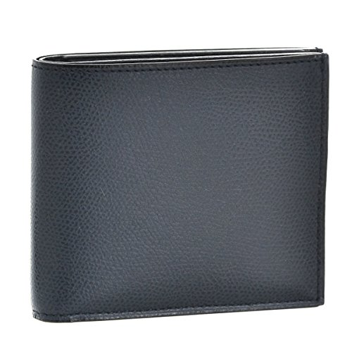 Valextra(ヴァレクストラ) 財布 メンズ カーフスキン 2つ折り財布 ダークネイビー V8L23-028-000URD [並行輸入品]