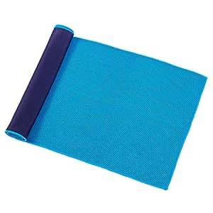 速乾タオル MISTART スポーツタオル アイスタオル 熱中症対策 暑さ対策 軽量 防臭 超速乾 超吸水 超やわらかい 湿気 梅雨対策 旅行・水泳・スポーツ・家庭用 炎天下作業 (blue)