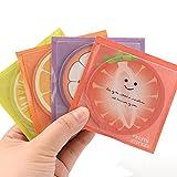 E-Fly フルーツメモ帳 かわいい 粘着メモ 本物 そっくり 様々な果物合わせて12冊セット