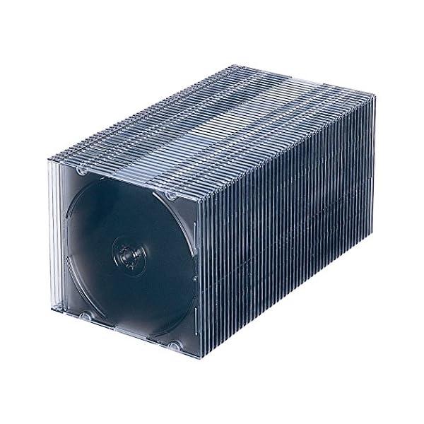 サンワサプライ 1枚収納×50 スリムBD DV...の商品画像