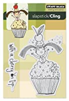 Penny Black Decorative Rubber Stamps, Lulu's Cupcake by Penny Black Inc