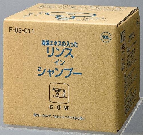 【業務用】カウブランド海藻エキスリンスインシャンプー 10L