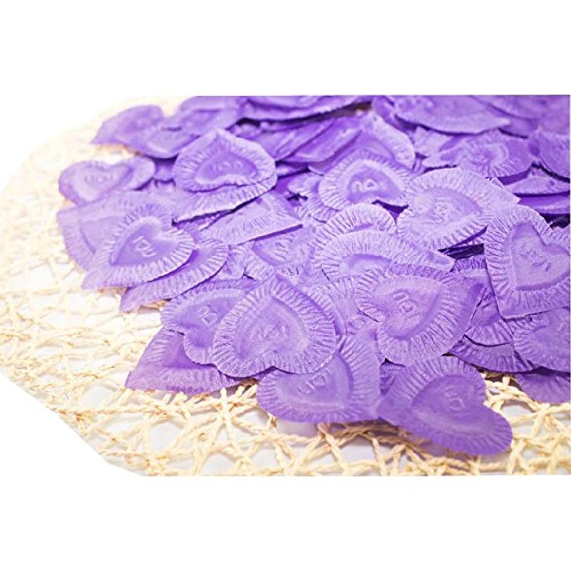 疼痛預言者インターネット結婚式のための人工花びら紫840個