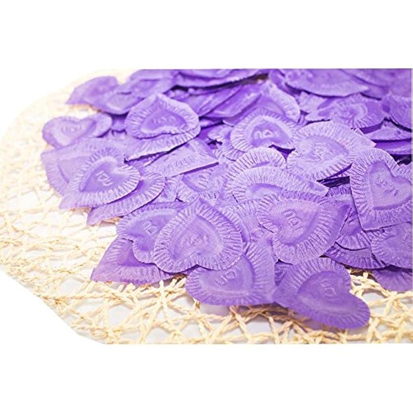 余剰期限伝える結婚式のための人工花びら紫840個