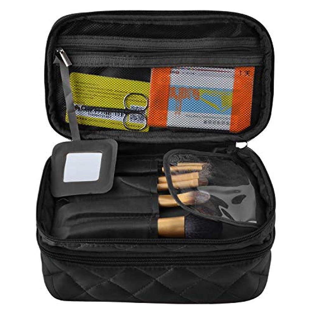アスペクト食物上下するNOTAG メイクポーチ 化粧ポーチ レディース 旅行ポーチ 収納 大容量 防水 小物入れ 旅行 多機能
