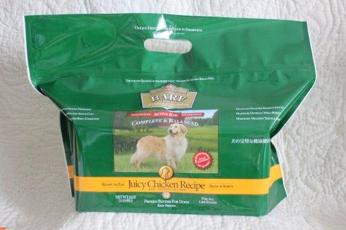 バーフダイエット BARFDIET チキン 12枚入パック 理想の食物バランス。生食ローフード