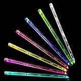 JXE JXO ドラムスティック 光る ドラムスティック ledライト スティック ドラムスティック ledライト 7色が変化可能 2本1組