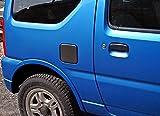 リアルカーボン製 【給油口カバー】スズキ(SUZUKi)ジムニーJB23W専用 フューエルリッドカバー 日本製 MadeinJapan