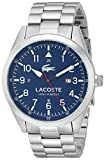 LACOSTE [ラコステ]Lacoste 腕時計 Montreal Analog Display Japanese Quartz Silver Watch 2010783 メンズ [並行輸入品]