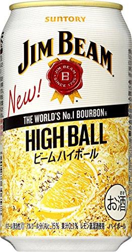 ジムビーム ハイボール 缶 [ ウイスキー 日本 350ml×24本 ]