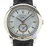 (ロレックス)ROLEX 腕時計 チェリーニ チェリニウム 5241/6(K) Pt950/革 メンズ 中古
