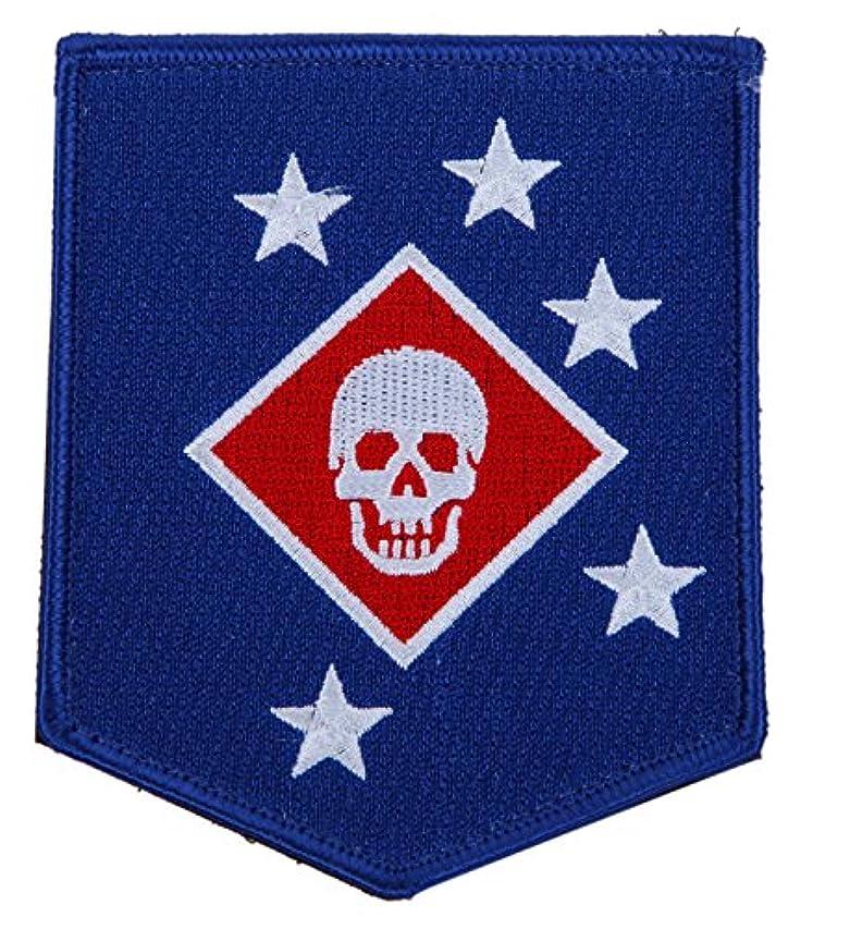 清めるラボ肺炎着脱式 ベルクロワッペン アメリカ海兵隊特殊作戦部隊(MARSOC) マリーン・レイダース USMC MARSOC MARINE RAIDERS ミリタリー