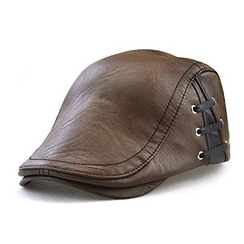 LOLONG ハンチング帽 帽子 メンズ 無地 大きいサイズ 秋 冬 裏起毛で暖かい 全3色】