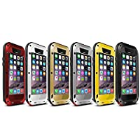 JOYS CLOTHING 互換性のあるIPhone6 / 6Sプラス、IPhone6 / 6s、アルミメタルケース、耐水耐衝撃性 (Color : レッド, サイズ : IPhone6/6s)