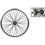 ホイールマスターフロント自転車ホイール20 x 2.0、36h、Sun ryno-lite , Bolt On ,ブラック