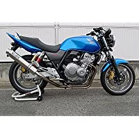 【WR'S ダブルアールズ】ステンレスサイレンサースリップオンタイプ「HONDA CB400SF H-V REVO/SB/ABS 2008~2009」