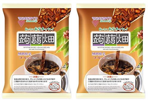 マンナンライフ 蒟蒻畑コーヒー味 <25g×12個入>×2袋