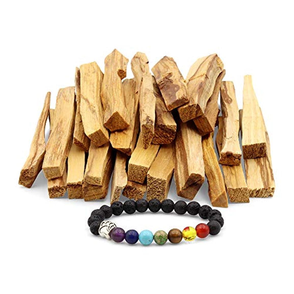 トロリー本当のことを言うとトイレJL Local 天然パロサント香 - スマッジ、クレンジング、瞑想、ヨガの練習に - ホームフレグランス/アロマセラピーに 25 Sticks