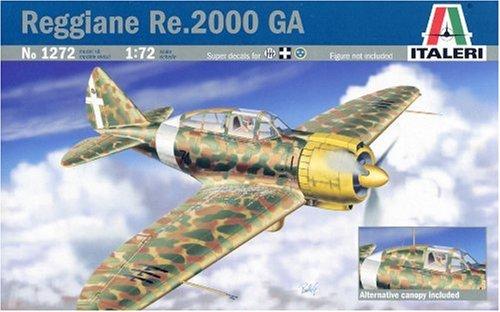 イタレリ 1/72 飛行機シリーズ 1272 1/72 レジアーネ Re2000 GA 38072