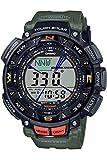[カシオ] 腕時計 プロトレック ソーラー PRG-240-3JF メンズ グリーン