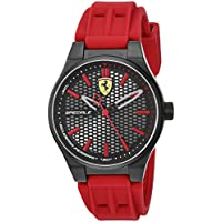 ブラック メンス アナログ カジュアル クォーツ Ferrari 時計 クォーツ ???? 0840010