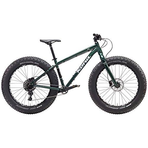 KONA(コナ) ファットバイク WO Mサイズ グロスグリーン