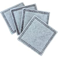 ペットセーフ ドリンクウェル 交換用活性炭フィルター アクアキューブ用 4枚入