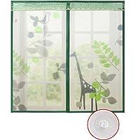 蚊スクリーン画面のミュート,フルフレーム velcro 磁気スクリーン ドア夏大型メッシュ画面のスナップが自動的にシャット ダウン-D 100x100cm(39x39inch)