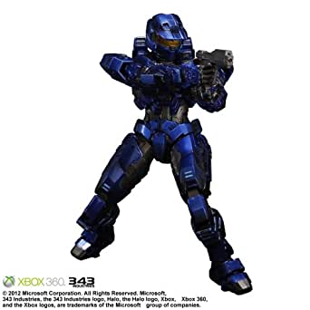 Halo: Combat Evolved PLAY ARTS改 Spartan Mark V Blue 【Envisioned by Square Enix Products】(PVC塗装済みアクションフィギュア)