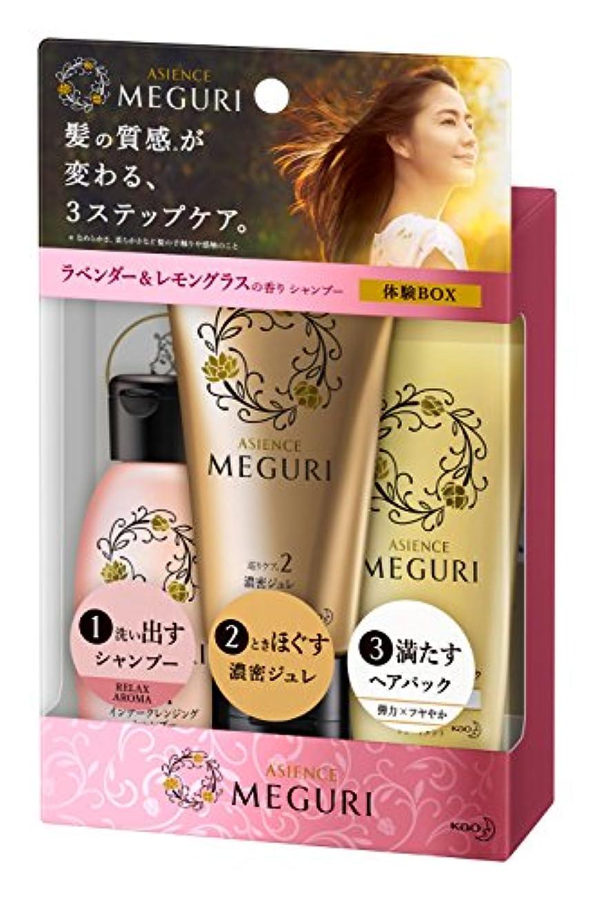流体祈り小間【ミニセット】アジエンス MEGURI 体験BOX RELAX 145g
