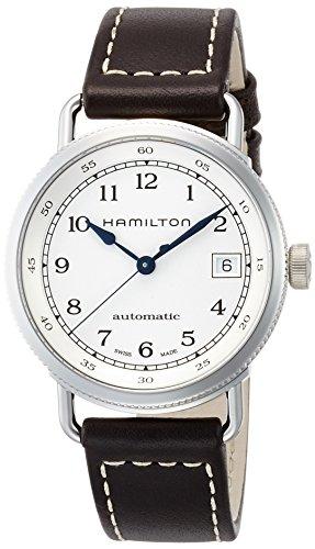 [ハミルトン]HAMILTON 腕時計 カーキ ネイビー パイオニア オート H78215553 【正規輸入品】