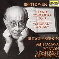 Beethoven: Piano Concerto No. 3, Choral Fantasy (1990-10-25)