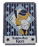 Northwest MLB Woven Jacquard Throw Tampa Bay Rays Baby Throw