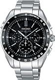 [セイコー]SEIKO 腕時計 BRIGHTZ ブライツ クロノグラフ ソーラー電波 ブラック スーパークリアコーティング SAGA077 メンズ
