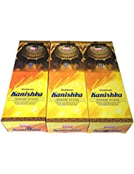 カニシュカ香スティック 3BOX(18箱) /DARSHAN KANISHKA/インセンス/インド香 お香 [並行輸入品]