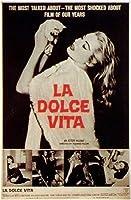 La Dolce Vitaプリントポスター(27.94 x 43.18 cm)