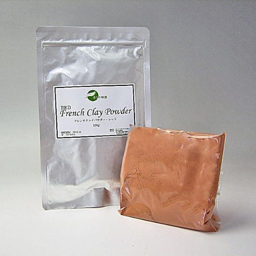 書き込み毛細血管ゲージ[クレイ?パウダー] ソフトな吸着力と浄化作用 フレンチレッド 100g