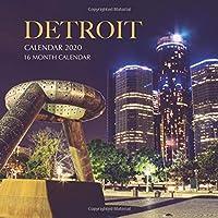 Detroit Calendar 2020: 16 Month Calendar