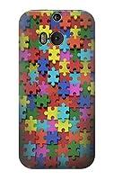 JP0816 パズル Puzzle HTC ONE M8 ケース