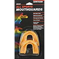 Safe-T-Gard 5524B Athletic Saftgard Mouthguard Adult 2 PK by Safe-T-Gard