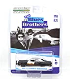 "GREENLIGHT HOLLYWOOD 1:64SCALE ""THE BLUES BROTHERS"" ""JAKE & ELWOOD'S BLUESMOBILE"" グリーンライト ハリウッド 1:64スケール 「ブルースブラザーズ」 「ジェイク & エルウッド ブルースモービル」 dodge monaco [並行輸入品]"