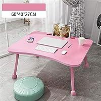 HitoMi ノートパソコンデスク カードスロットのラップトップのテーブルの机が付いている大きい多機能のベッドの机