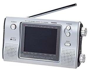 TWINBIRD 3.5型 液晶 テレビ ステレオザバディ VL-J351S  防水