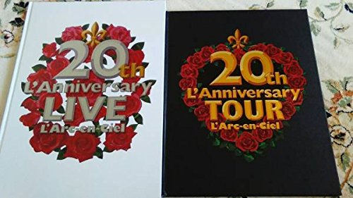 L' Arc-en-Ciel ラルクアンシェル 20th L'Anniversary TOUR LIVE パンフレット 写真集 VAMPS 2点セット