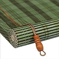 WUFENG 竹カーテン パーティション 中国語 陰影 シェード 入り口 背景 インドア 3色 23サイズ カスタマイズ可能 (色 : A, サイズ さいず : 60X180cm)