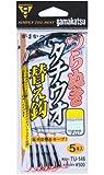 がまかつ(Gamakatsu) ツラヌキタチウオ替鈎 TU146 5-48(ワイヤー#48)