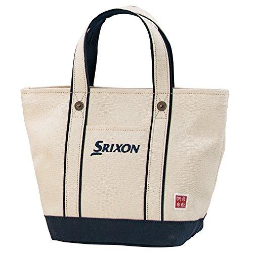 DUNLOP(ダンロップ) SRIXON 帆布ラウンドトートバッグ  GGF-B4008 ネイビー