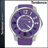 (テンデンス) TENDENCE 腕時計 メンズ レディース SLIM POP スリムポップ 47mm TG131002 ウォッチ 時計 パープル PURPLE 3H ユニセックス PURPLE (並行輸入品)