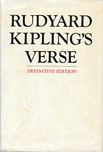 Download Rudyard Kipling's Verse 4800 0385044070