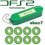 レベルロイヤル(Revel Royal) DFS2 BEARINGS SBG540 ABEC7 フィズ スケートボード (スケボー) ベアリング 《8個1セット》